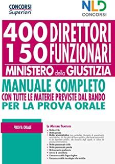 400 e 150 direttori funzionari